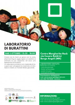 Laboratorio di burattini